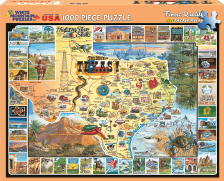 Best of Texas Jigsaw Puzzle