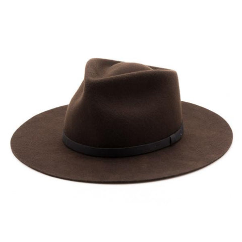 Dylan Fedora Dark Brown