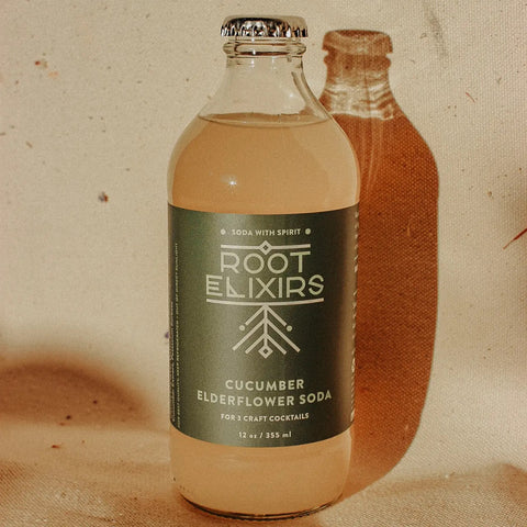 Root Elixirs Cucumber & Elderflower