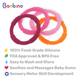 Girl's Baby Teether Rings Description