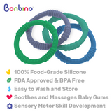 Boy's Baby Teether Rings Description