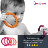 Bonbino Girl's Baby Teether Rings Review