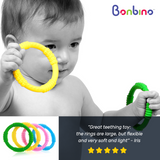 Bonbino Unisex Baby Teether Rings Review