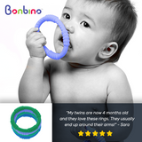 Boy's Baby Teether Rings Review 2
