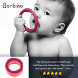 Bonbino Girl's Baby Teether Rings Review 2