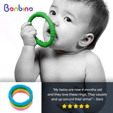 Bonbino Unisex Baby Teether Rings Review 2