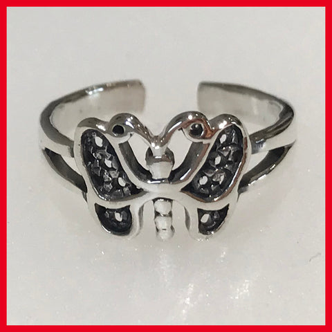 Butterfly Toe Ring(1)