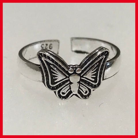 Butterfly Toe ring or Fingertip Ring(2)