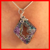 Swarovski Grown Crystal Rhombus Necklace