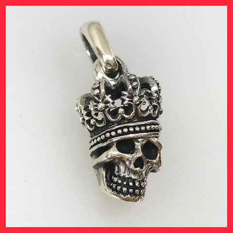 Crowned Skeleton Pendant