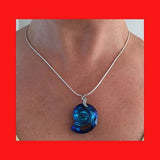 Swarovski Bermuda Blue Sea Snail Crystal Necklace