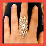 Long Leaves Ring