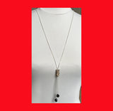 Necklaces; Swarovski Becharmed Leopard Column Long Necklace