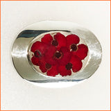 Real Poppy Brooch