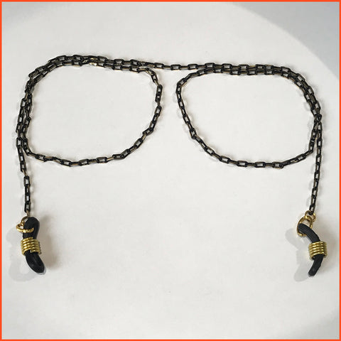 Black and Gold spectacle Chain
