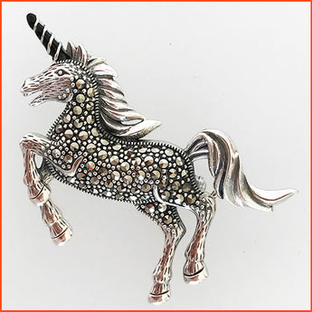 Unicorn Brooch-Pendant