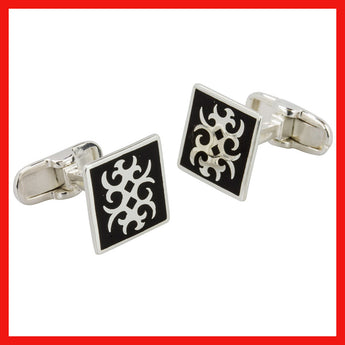 Cufflinks; Abstract Design