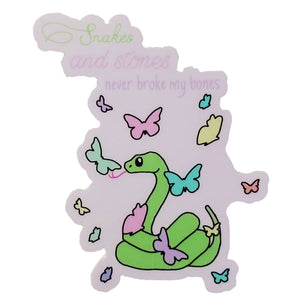 Snakes And Stones Taylor Swift Decal Sticker - GoPinPro