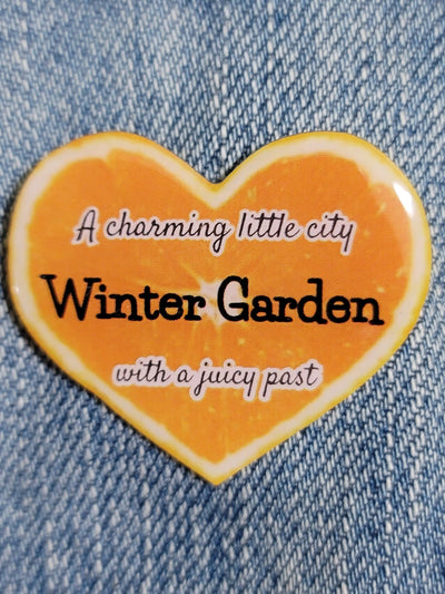 Charming City with a Juicy Past Pin &  Sticker - GoPinPro