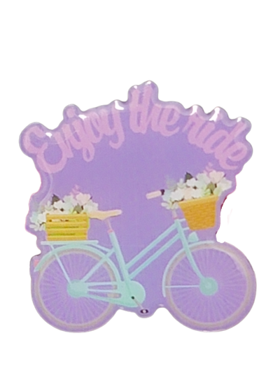 Enjoy the Ride Pin - GoPinPro