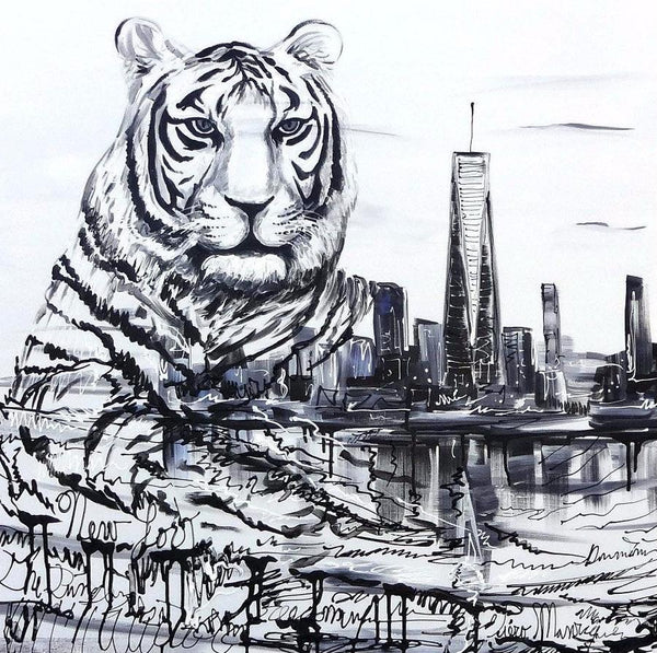 """White Tiger"" By Piero Manrique"