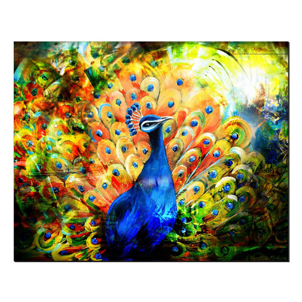 """Peacock"" By Piero Manrique"