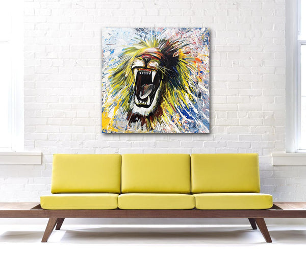 """Lion Roar"" By Piero Manrique"