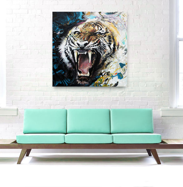 """Tiger Roar"" by Piero Manrique"