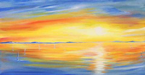 "Original Painting ""Sunset"""