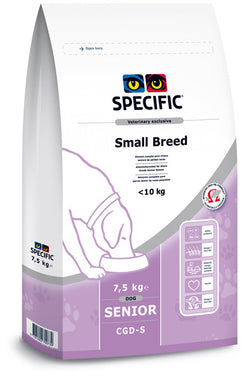 Seniorhunde under 10 kg - CGD-S Senior Small Breed - Vodskov Dyreklinik