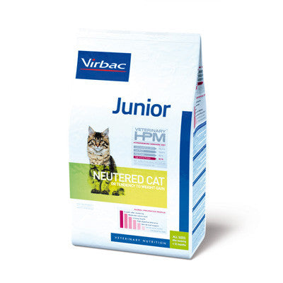 Ung neutraliseret - Junior Neutered or Tendency to Weight Gain Cat Virbac - Vodskov Dyreklinik