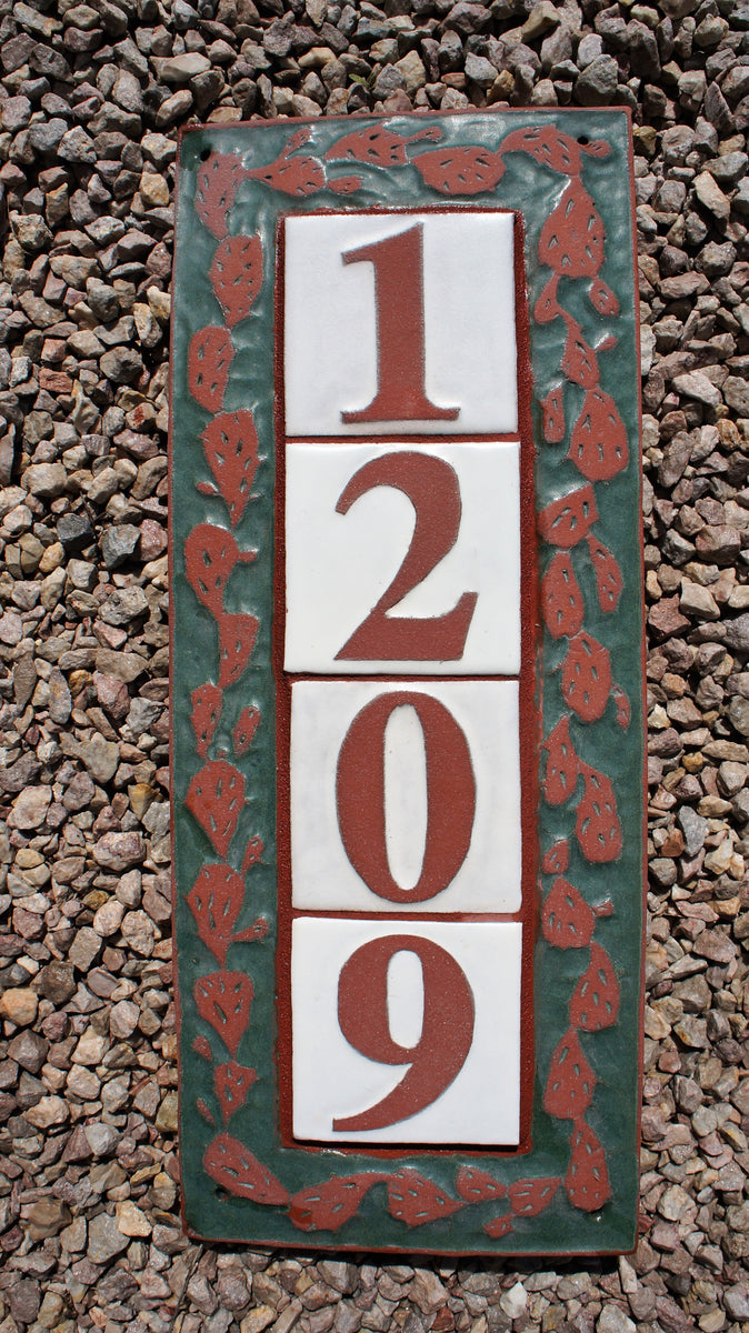 Tile House Numbers & Address Plaques