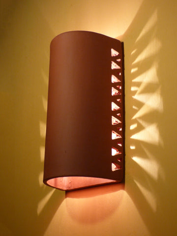 #213 Cutout Halo Sconce - Clayworks Studio/Gallery