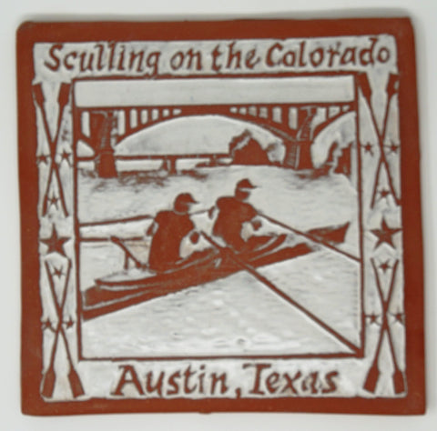 Sculling on the Colorado Tile - Clayworks Studio/Gallery