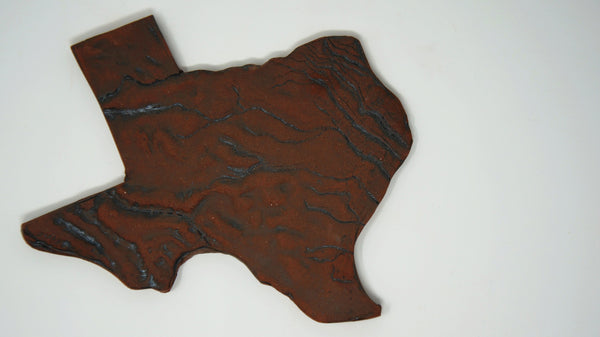 Texas Trivet - Clayworks Studio/Gallery