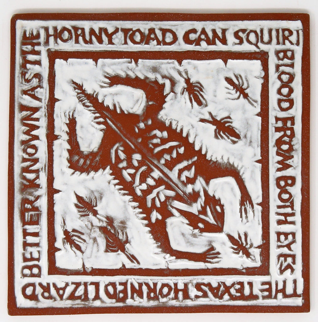 Horny Toad / Blood from Both Eyes - Clayworks Studio/Gallery