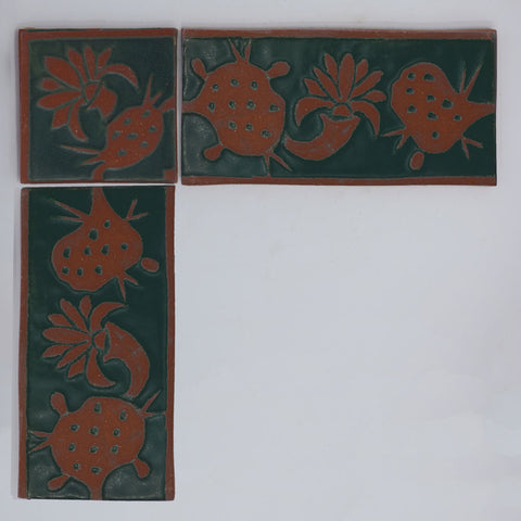 4-in. Border Tiles - Clayworks Studio/Gallery