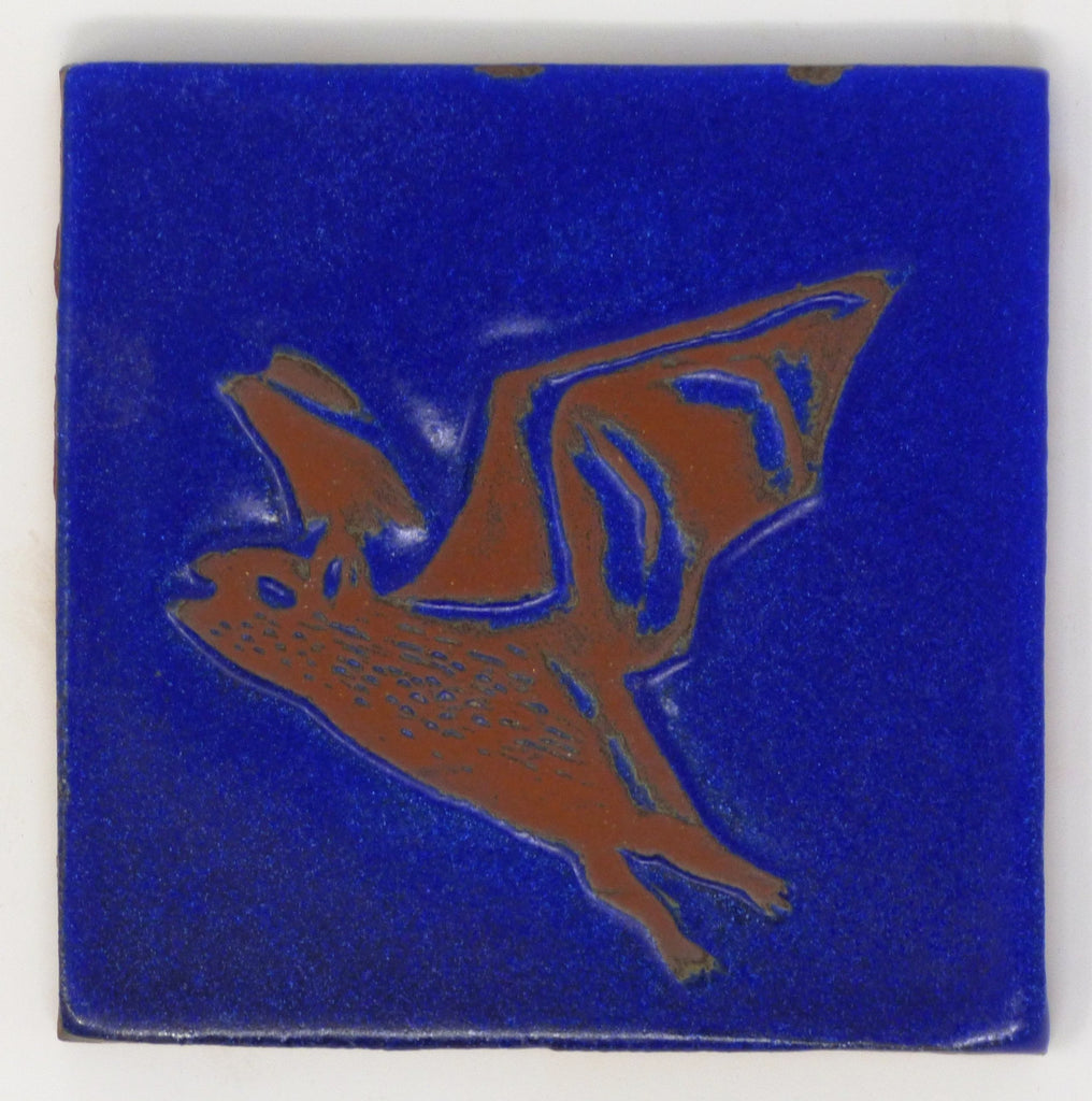 Bat Critter Tile - Clayworks Studio/Gallery
