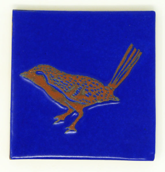 Song Bird Critter Tile - Clayworks Studio/Gallery