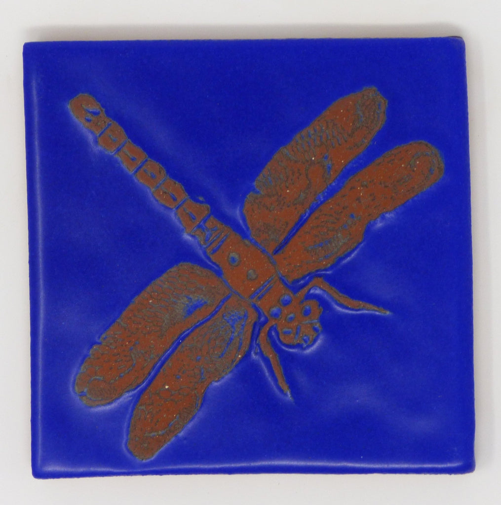 Dragonfly Critter Tile - Clayworks Studio/Gallery