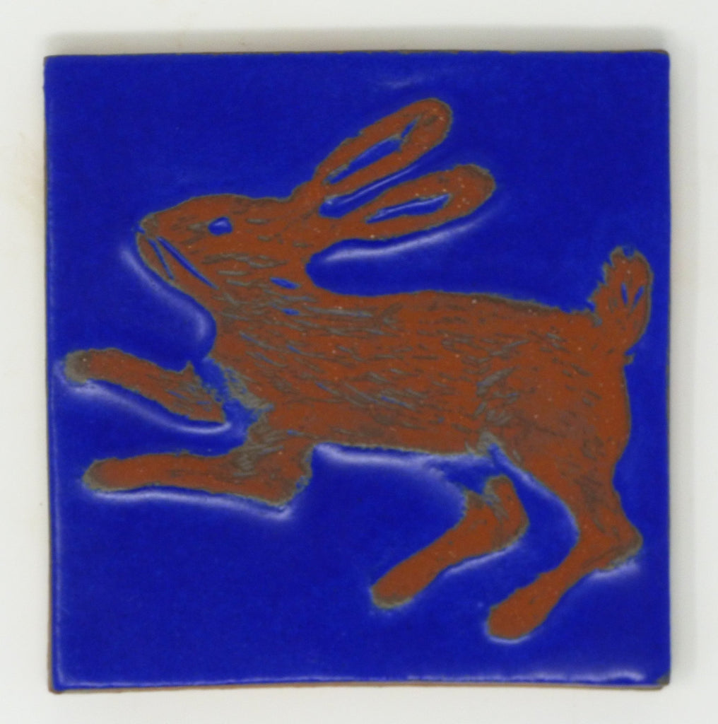 Rabbit Critter Tile - Clayworks Studio/Gallery