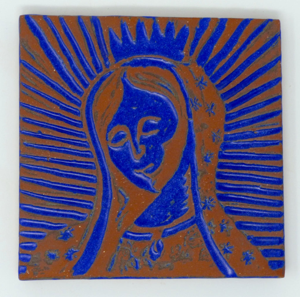 Our Lady of Guadalupe Tile - Clayworks Studio/Gallery
