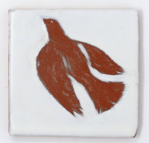 Dove Critter Tile - Clayworks Studio/Gallery