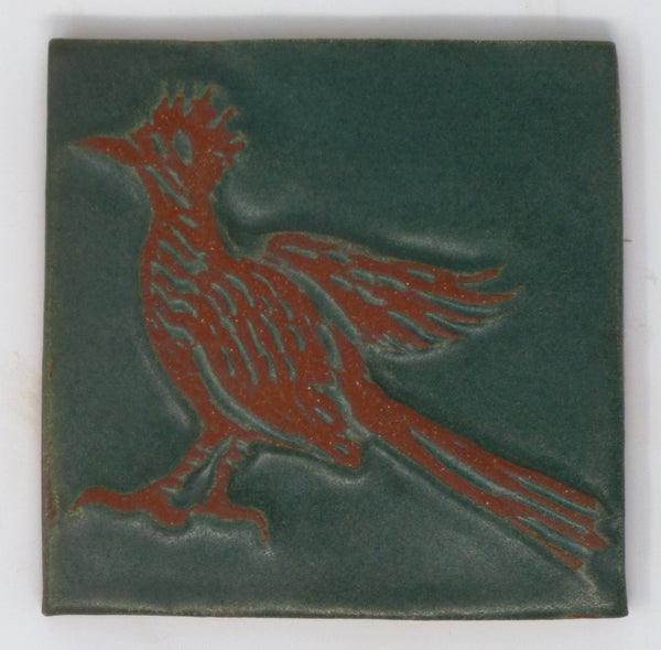 Road Runner Critter Tile - Clayworks Studio/Gallery