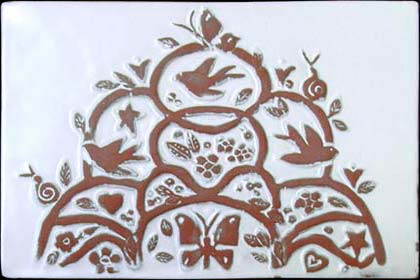 Tree of Life Accent Tile - Clayworks Studio/Gallery