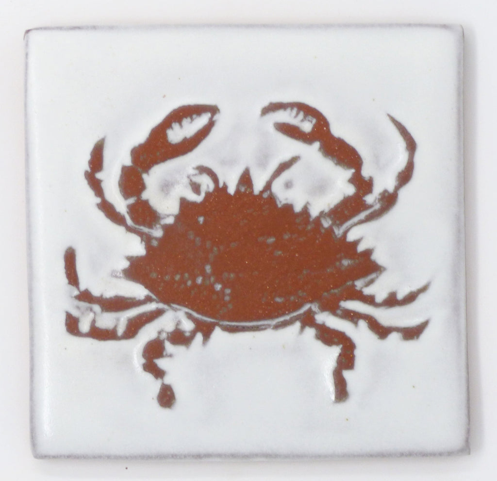Crab Tile - Clayworks Studio/Gallery