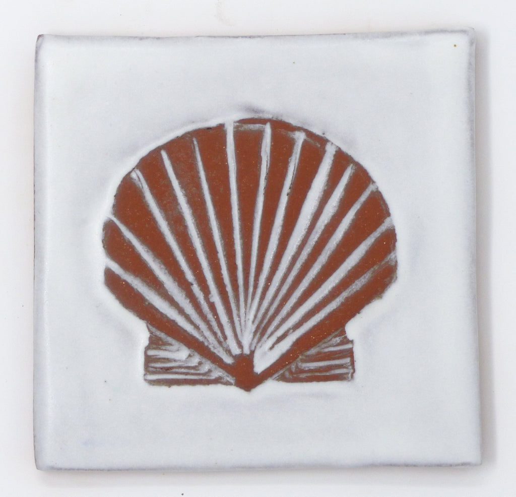 Shell Tile - Clayworks Studio/Gallery