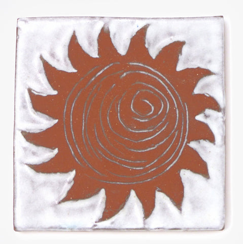 Sun Tile - Clayworks Studio/Gallery