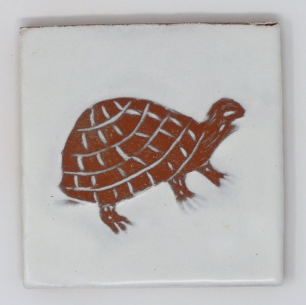 Turtle Critter Tile - Clayworks Studio/Gallery