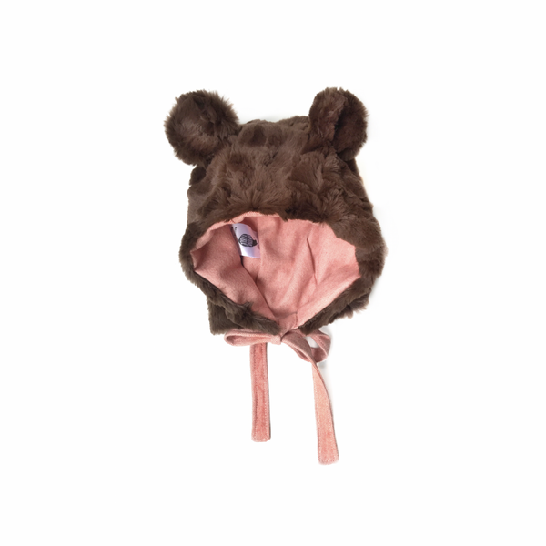 Chocolate Bear Peachy Pink